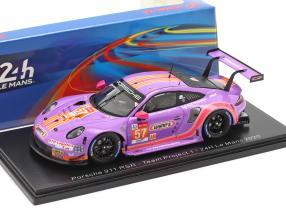 Porsche 911 RSR #57 24h LeMans 2020 Team Project 1 1:43 Spark