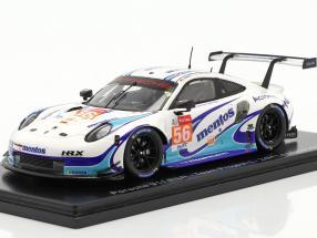 Porsche 911 RSR #56 24h LeMans 2020 Team Project 1 1:43 Spark