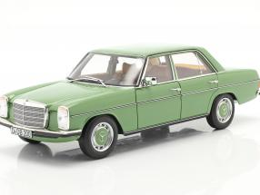 Mercedes-Benz 200 Sedan (W115) year 1973 green