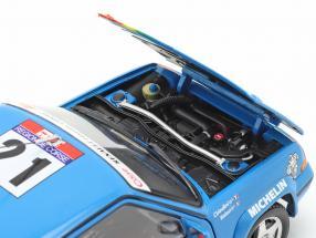 Renault SuperCinq GT Turbo #21 Tour de Corse 1990 Cirindini, Balesi