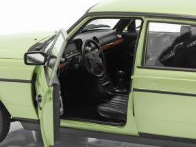 Mercedes-Benz E-class 200E (W123) AMG year 1984 silver green