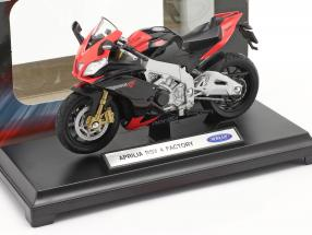 Aprilia RSV 4 Factory red / black 1:18 Welly