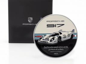 Plaque radiator grill Porsche 917K Martini #22 Winner 24h LeMans 1971