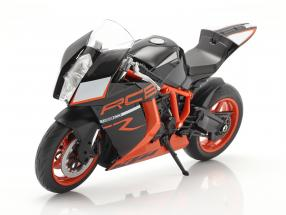 KTM 1190 RC8 R black / orange 1:10 Welly