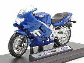 Triumph TT600 year 2002 blue 1:18 Welly