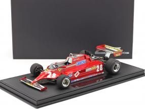 Didier Pironi Ferrari 126CK #28 formula 1 1981 with showcase 1:18 GP Replicas