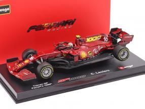 C. Leclerc Ferrari SF1000 #16 1000th GP Ferrari Tuscany GP F1 2020 1:43 Bburago