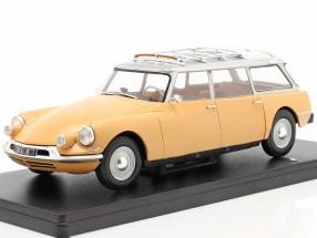 Citroen ID19 Break yellow-brown 1:24 Hachette