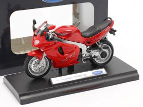Triumph Sprint ST year 2002 red 1:18 Welly
