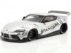 Pandem Toyota GR Supra V1.0 year 2020 silver 1:18 TrueScale