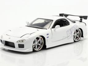 Mazda RX-7 1993 Fast & Furious White 1:24 Jada Toys