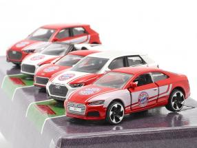 5-Car Set Audi FC Bavaria Munich 1:64 Majorette