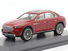 Mercedes-Benz Maybach Vision Ultimate Luxury red metallic 1:43 Schuco