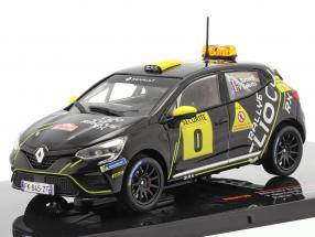 Renault Clio Rally #0 Advance vehicle Rallye Monte Carlo 2020 Bernardi, Bellotto 1:43 Ixo