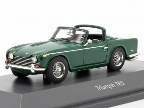 Triumph TR5 Construction year 1967-68 british racing green 1:43 Schuco