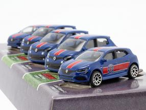 5-Car Set Renault Paris Saint-Germain 1:64 Majorette
