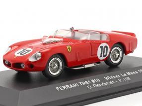 Ferrari TRI/61 #10 Sieger 24h LeMans 1961 Gendebien, Hill 1:43 Ixo