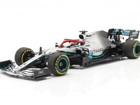L. Hamilton Mercedes-AMG F1 W10 #44 Monaco GP F1 Weltmeister 2019 1:18 Minichamps