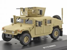M1115 Humvee Military vehicle with gun sand colored 1:48 Solido