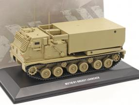 M270/A1 Rocket launcher Military vehicle sand colored 1:48 Solido