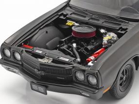 Chevrolet Chevelle SS Blackout Drag Outlaws 1970 mat black