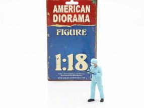 Figur 4 Hazmat Crew 1:18 American Diorama