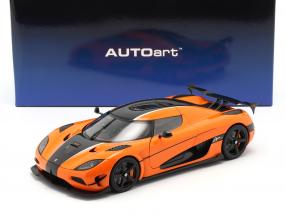 Koenigsegg Agera RS Baujahr 2015 orange / carbon 1:18 AUTOart