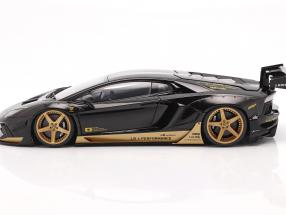 Lamborghini Aventador Liberty Walk LB-Works 2018 black / gold