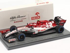 Antonio Giovinazzi Alfa Romeo Racing C39 #99 Turkish GP formula 1 2020 1:43 Spark
