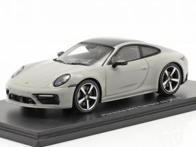 Porsche 911 (992) Carrera 4S year 2019 chalk gray 1:43 Spark