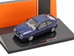 Volkswagen VW Corrado G60 year 1989 dark blue 1:43 Ixo