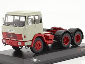 Henschel HS 19 TS year 1966 light grey / red 1:43 Ixo
