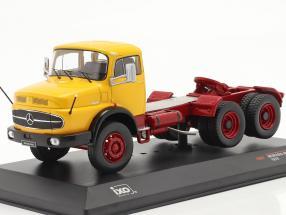 Mercedes-Benz LS 2624 year 1979 yellow / dark red 1:43 Ixo