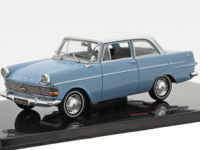 Opel Rekord P2 year 1961 light blue / white 1:43 Ixo