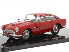 Aston Martin DB4 Coupe RHD year 1958 dark red 1:43 Ixo