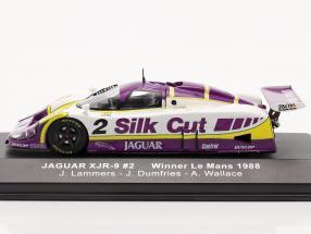 Jaguar XJR-9 #2 Winner 24h LeMans 1988 Lammers, Dumfries, Wallace