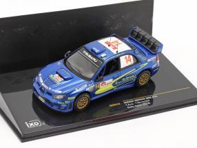 Subaru Impreza WRC #14 rally Japan 2006 Arai, Sircombe 1:43 Ixo
