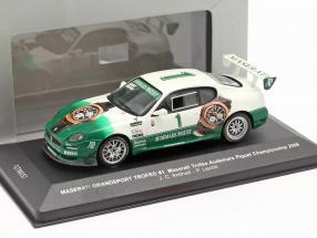 Maserati Grandsport Trofeo #1 championship 2006 Andruet, Liechti 1:43 Ixo