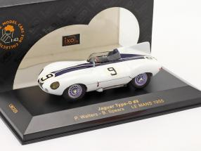 Jaguar Type-D #9 LeMans 1955 Walters, Spears 1:43 Ixo