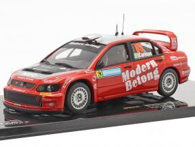 Mitsubishi Lancer WRC #63 rally Sweden 2006 Carlsson, Holmstrand 1:43 Ixo
