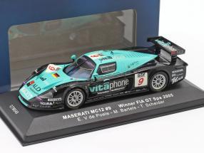 Maserati MC12 #9 winner FIA GT Spa 2005 V de Poele, Bartels, Schneider 1:43 Ixo