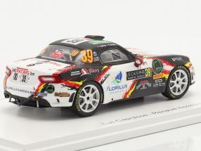 Abarth 124 Rally RGT #39 Rallye Monte Carlo 2020 Caprasse, Herman