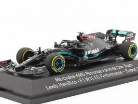 Lewis Hamilton Mercedes-AMG F1 W11 #44 formula 1 World Champion 2020