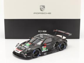 Porsche 911 RSR #92 24h LeMans 2020 Christensen, Estre, Vanthoor 1:18 Spark