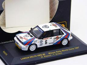 Lancia Delta 4WD #6 Winner Monte Carlo 1987 1:43 Ixo