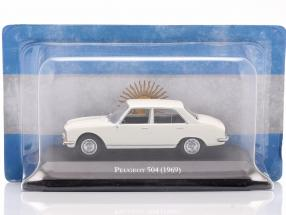 Peugeot 504 year 1969 white