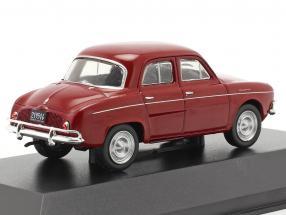 Renault Dauphine year 1965 dark red