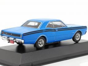 Dodge Polara RT year 1974 blue