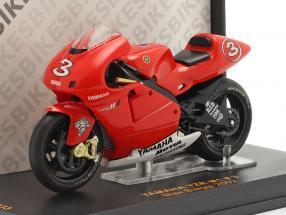 Max Biaggi Yamaha YZR M1 #3 Moto GP 2002 1:24 Ixo