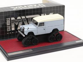 Land Rover Series II Cuthbertson Conversion 1958 blue-gray / white 1:43 Matrix